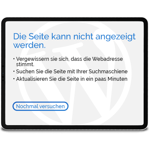 Wordpress Köln Notfallhilfe