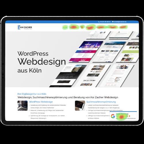 Webdesign Kai Zacher Kerpen Benutzerfreundlichkeit