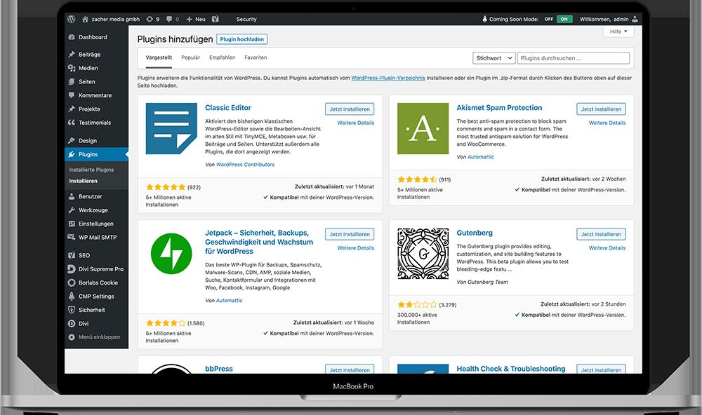 wordpress updates und aktualisierungen aus köln