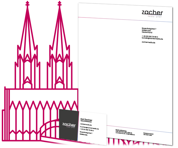 zacher media grafikdesign aus köln