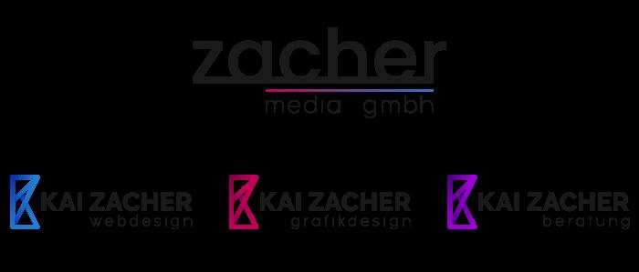 zacher media logodesign aus Köln