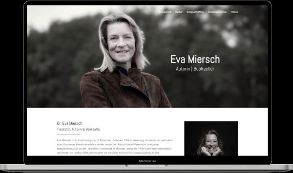 Autorin Eva Miersch Webdesign