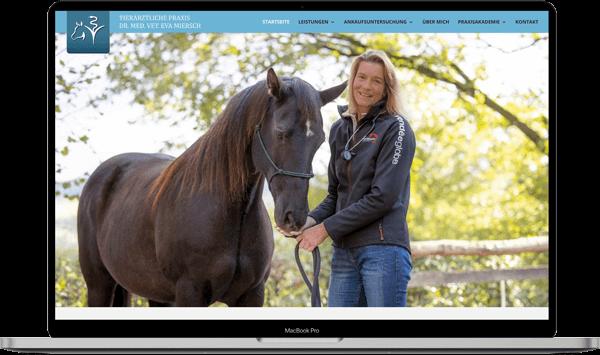 Eva Miersch Tierarztpraxis Webdesign