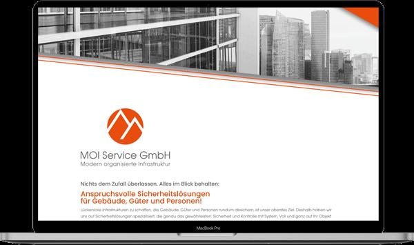 MOI Service Webdesign